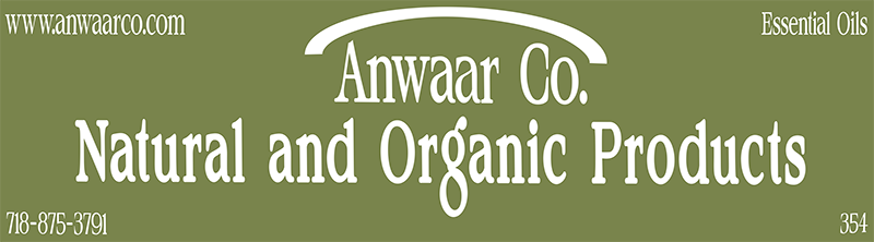 Anwaar Co. is a family owned business in the manufature and retail of high quality natural products, for skin, hair and health care.