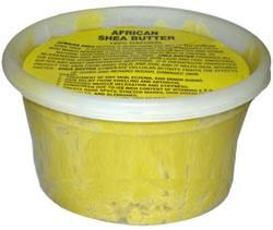 African Shea Butter 100% Natural 16.oz with Label