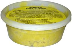 African Shea Butter-100% Natural 8.oz with Label