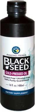 Black Seed Cold Pressed Oil Sizes