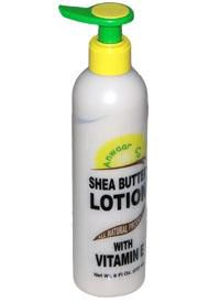 Shea butter lotion with vitamin E