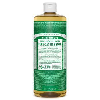 Dr Bronner's Almond Pure-Castile Liquid Soap - 32oz