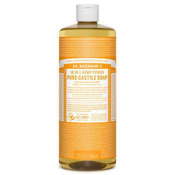 Dr Bronner's Citrus Pure-Castile Liquid Soap - 32oz